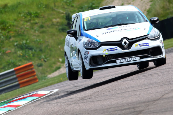 2017 Renault Clio Cup Thruxton, 6th-7th May 2017,  Mike Bushell (GBR) Team Pyro Renault Clio Cup World copyright. JEP/LAT Images