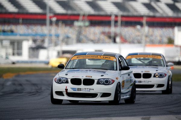 3-5 January, 2014, Daytona Beach, Florida, USA #23, BMW, 128i, Terry Borcheller, Mike LaMarra © 2014, Michael L. Levitt LAT Photo USA