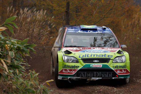 Round 14, Rally Japan30th October - 2nd November 2008Mikko Hirvonen, Ford, actionWorldwide Copyright: McKlein/LAT