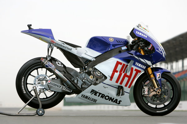 Qatar, Losail International Circuit.10th - 13th April 2009.Valentino Rossi Fiat Yamaha M1World Copyright: Martin Heath/LAT Photographic ref: Digital Image BPI_Moto 7n3g