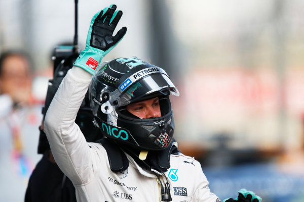 Shanghai International Circuit, Shanghai, China. Saturday 11 April 2015. Nico Rosberg, Mercedes AMG. World Copyright: Steven Tee/LAT Photographic. ref: Digital Image _X0W7525