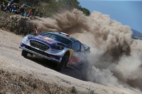 2017 FIA World Rally Championship, Round 07, Rally Italia Sardegna, June 8-11, 2017, Sebastien Ogier, Ford, action Worldwide Copyright: McKlein/LAT