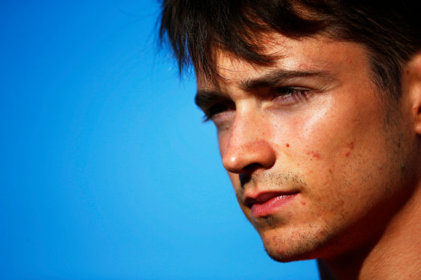 Hungaroring, Budapest, Hungary. Friday 28 July 2017 Charles Leclerc (MCO, PREMA Racing).  Photo: Mauger/FIA Formula 2 ref: Digital Image _ONZ9576