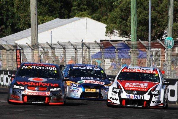 Jamie Whincup  (AUS) Team Vodafone 888 Commodore, won race 15.Australian V8 Supercars, Rd9, Sucrogen Townsville 400, Townsville, Queensland, Australia. 9-11 July 2010.