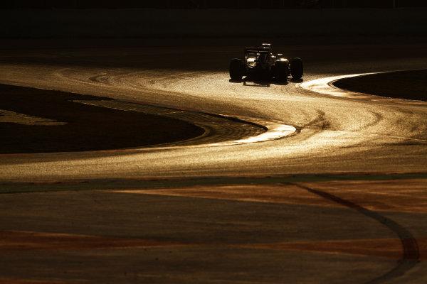 Circuit de Catalunya, Barcelona, Spain Monday 22 February 2016. Marcus Ericsson, Sauber C35 Ferrari. World Copyright: Sam Bloxham/LAT Photographic ref: Digital Image _SBL5448