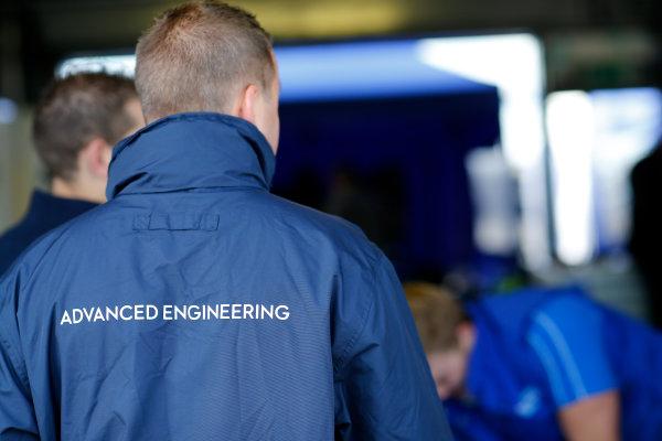 FIA Formula E Test Day, Donington Park, UK.  19th August 2014. Williams Advanced Engineering. Photo: Adam Warner/FIA Formula E ref: Digital Image _L5R5748