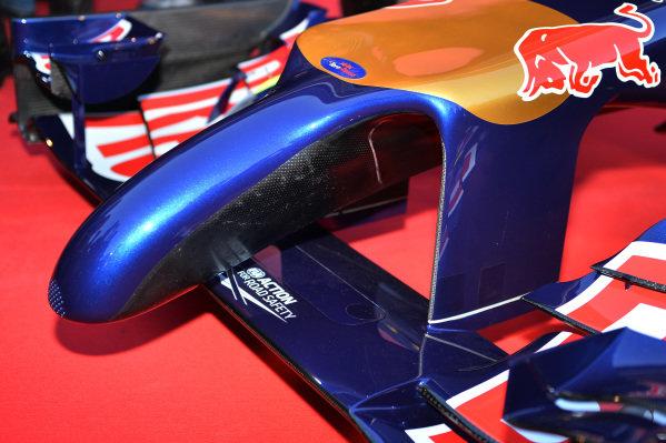 Scuderia Toro Rosso STR9 nose detail. Scuderia Toro Rosso STR9 Launch, Jerez, Spain, Monday 27 January 2014.
