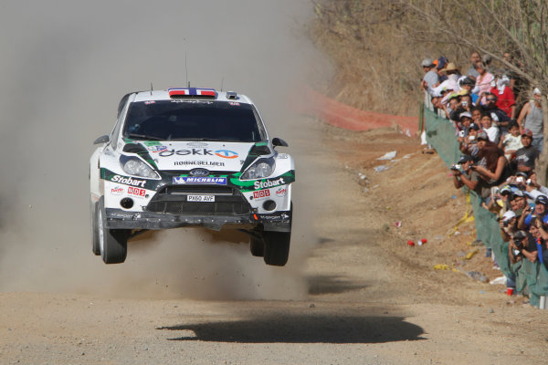 Round 2, Rally of Mexico, 3rd-6th March 2011Mads Ostberg, Jonas Anderson, Ford Fiesta RS WRC, Action, Worldwide Copyright: McKlein/LAT