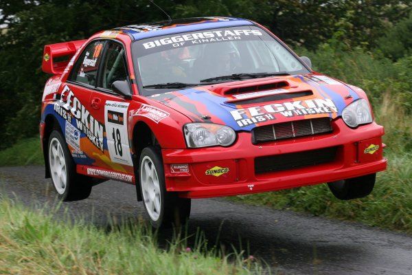 2007 British Rally Championship,Ulster Rally, Northern Ireland,31st August/1st September 2007,Denis Biggerstaff,World Copyright: Ebrey/LAT Photographic