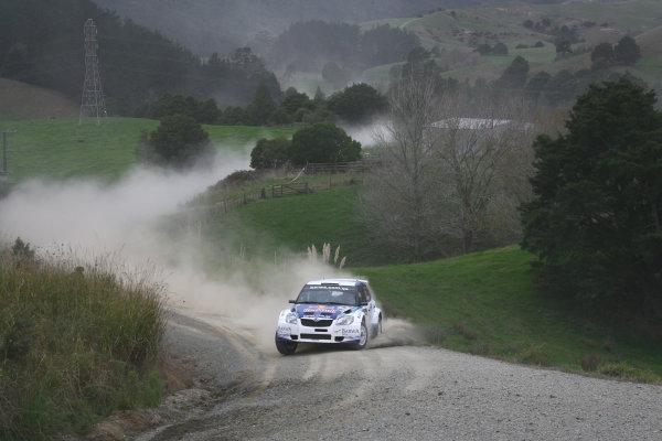 2010 FIA World Rally ChampionshipRound 05Rally New Zealand 7 - 9 May  2010Nasser Al-Attiyah, Skoda S2000, ActionWorldwide Copyright: McKlein/LAT