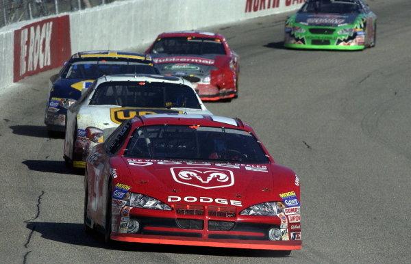 Bill Elliott (USA), Dodge Dealers, scored his 44th career win at Rockingham.   NASCAR Winston Cup Series, Rd35, Pop-Secret Microwave Popcorn 400, Rockingham, North Carolina, USA. 9 November 2003.DIGITAL IMAGE
