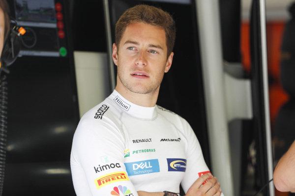 Stoffel Vandoorne, McLaren.