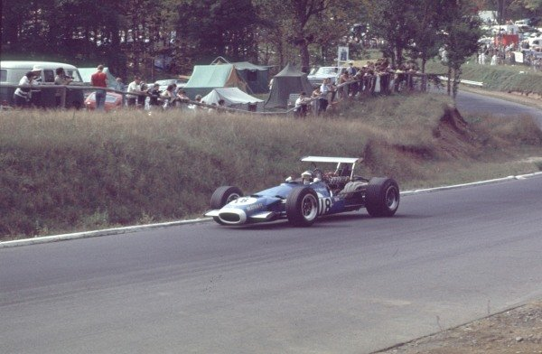 1968 Canadian Grand Prix.Mont-Tremblant, (St. Jovite), Quebec, Canada.20-22 September 1968.Jean-Pierre Beltoise (Matra MS11).Ref-68 CAN 35.World Copyright - LAT Photographic