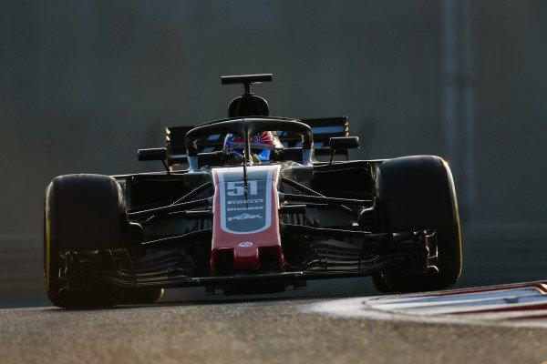Pietro Fittipaldi, Haas F1 Team VF-18.