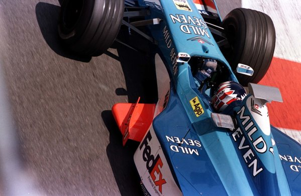 1998 Monaco Grand Prix.Monte Carlo, monaco.21-24 May 1998.Alexander Wurz (Benetton B198 Playlife).World Copyright - LAT Photographic