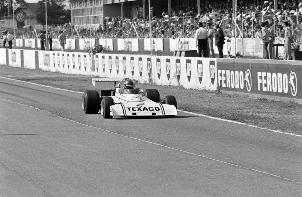 Ronnie Peterson, Lotus 74 Novamotor.