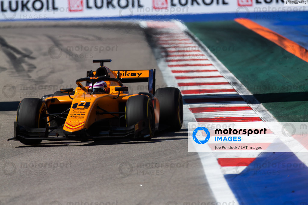 SOCHI AUTODROM, RUSSIAN FEDERATION - SEPTEMBER 29: Marino Sato (JPN, CAMPOS RACING) during the Sochi at Sochi Autodrom on September 29, 2019 in Sochi Autodrom, Russian Federation. (Photo by Joe Portlock / LAT Images / FIA F2 Championship)