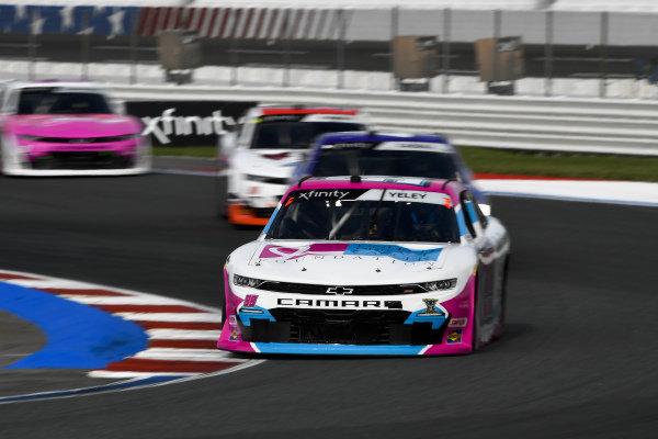 #99: J.J. Yeley, B.J. McLeod Motorsports, Chevrolet Camaro United Breast Cancer Foundation