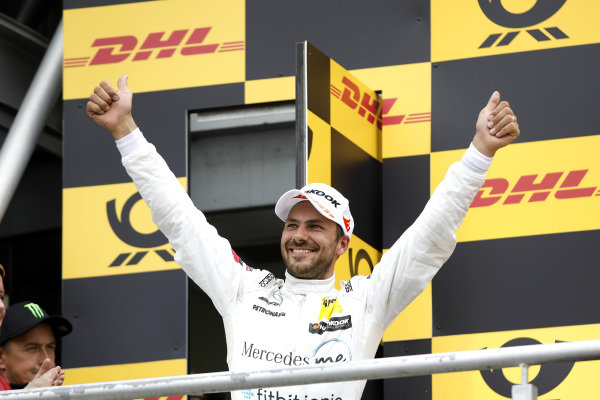 Podium: second place Gary Paffett, Mercedes-AMG Team HWA.