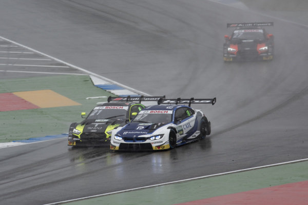 Joel Eriksson, BMW Team RBM, BMW M4 DTM, Pietro Fittipaldi, Audi Sport Team WRT, Audi RS 5 DTM
