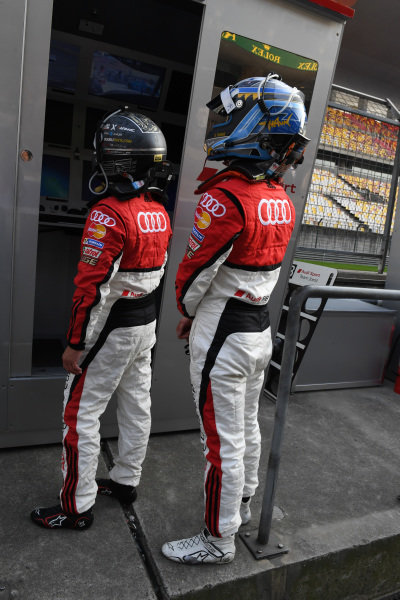 Marchy Lee (HK) Audi Hong Kong & Thong Wei Fung (HK) Phoenix Racing Asia at Audi R8 LMS Cup, Rd11 and Rd12, Shanghai International Circuit, Shanghai, China, 4-5 November 2016.