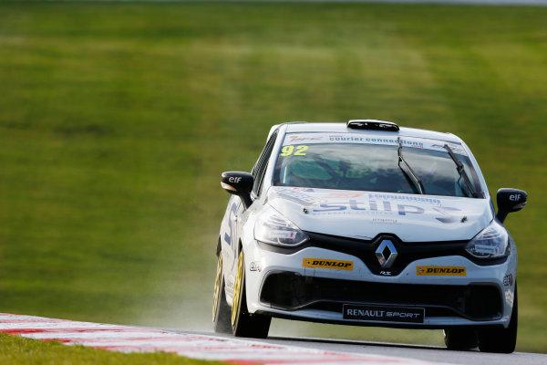 2014 Renault Clio Cup,  Brands Hatch, Kent. 11th - 12th October 2014. Jordan Stilp (GBR) 20Ten Racing. World Copyright: Zak Mauger/LAT Photographic. ref: Digital Image _L0U1106