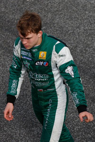 2014 GP3 Series Test 1. Estoril, Portugal.  Thursday 19 March 2015. Matthew Parry (GBR, Koiranen GP)  Photo: Sam Bloxham/GP3 Series Media Service. ref: Digital Image _SBL0670