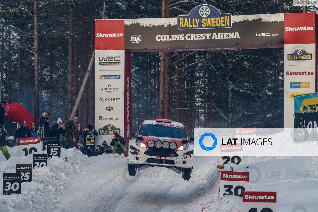 2018 FIA World Rally Championship, Round 02, Rally Sweden 2018, February 15-18, 2018. Takamoto Katsuta, Ford, Action Worldwide Copyright: McKlein/LAT