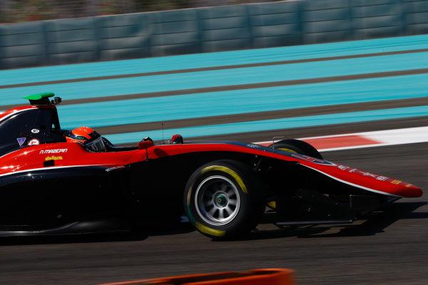 2017 GP3 Series Test 5. Yas Marina Circuit, Abu Dhabi, United Arab Emirates. Thursday 30 November 2017. Nikita Mazepin (RUS, ART Grand Prix).  Photo: Joe Portlock/GP3 Series Media Service. ref: Digital Image _R3I7798