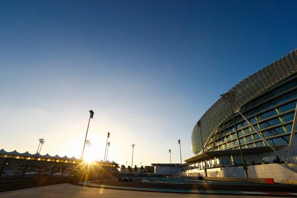 Yas Marina Circuit, Abu Dhabi, United Arab Emirates. Wednesday 29 November 2017. Charles Leclerc, Sauber C36 Ferrari.  World Copyright: Joe Portlock/LAT Images  ref: Digital Image _R3I6359
