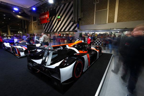 Autosport International Exhibition. National Exhibition Centre, Birmingham, UK. Sunday 14th January 2018. The Ligier stand.World Copyright: Mike Hoyer/JEP/LAT Images Ref: AQ2Y9748