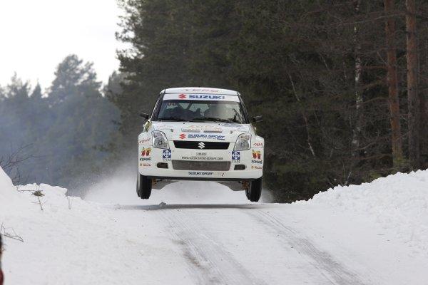 2006 FIA World Rally Champs. Round two Swedish Rally.2nd-5th February 2006.Umo Aava, Suzuki, action.World Copyright: McKlein/LAT