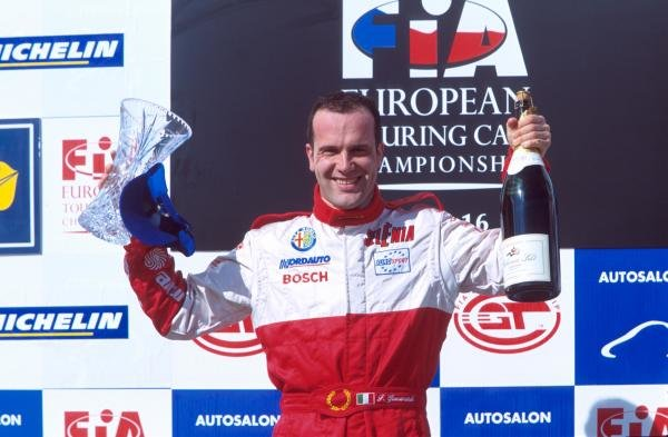 Fabrizio Giovanardi - Alfa Romeo 156European Touring Car Championship, Brno, 16 April 2001BEST IMAGE