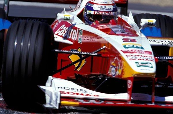 Alex Zanardi (ITA) Williams Supertec FW21. Formula One World Championship, Rd6, Canadian Grand Prix, Montreal, Canada, 13 June 1999.