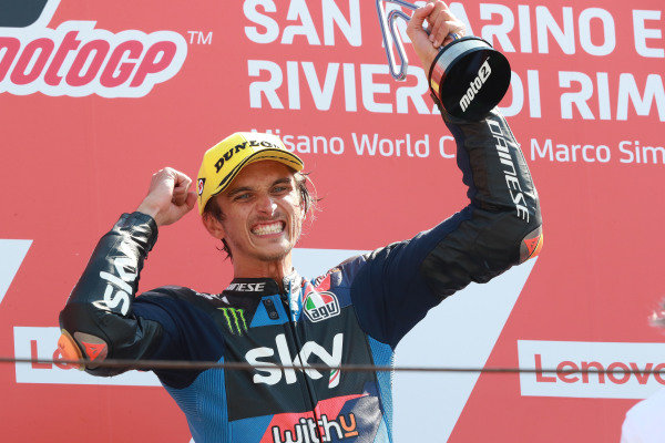 Luca Marini, Sky Racing Team VR46 .