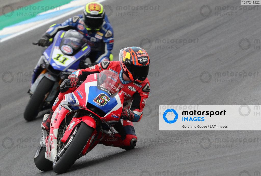 Stefan Bradl, Honda WSBK Team, Sandro Cortese, GRT Yamaha WorldSBK Team.