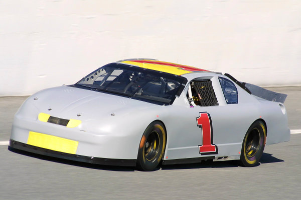 2002 NASCAR Cup TestingDaytona, Florida, USA. 8th January 2002.Kenny Wallace - action.World Copyright: Greg Aleck/LAT Photographicref: Digital Image Only