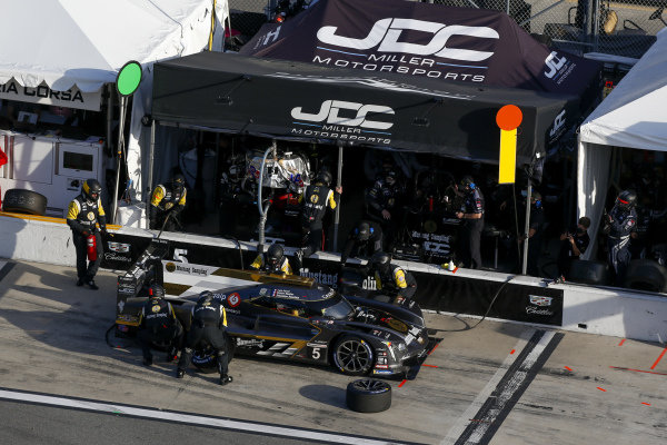 #5 JDC-Miller MotorSports Cadillac DPi, DPi: Pit Stop, Tristan Vautier, Loic Duval, Sebastien Bourdais