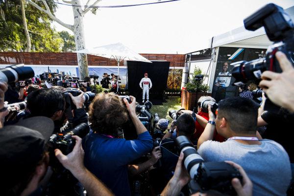 Kimi Raikkonen, Alfa Romeo Racing during the Official Portrait