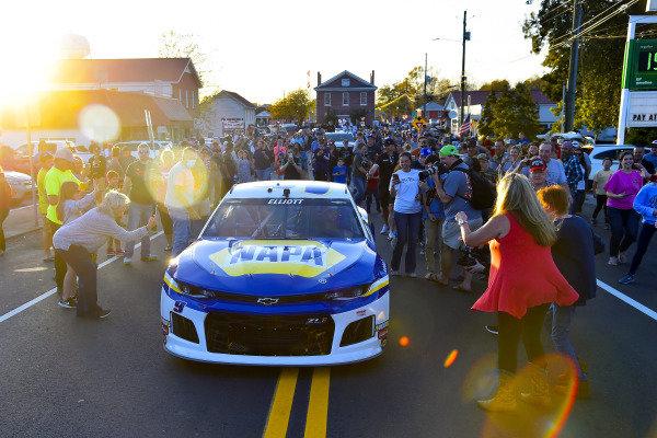 #9: Chase Elliott, Hendrick Motorsports, Chevrolet Camaro NAPA Auto Parts returns home to Dawsonville, GA after winning the 2020 NASCAR Cup Series Championship