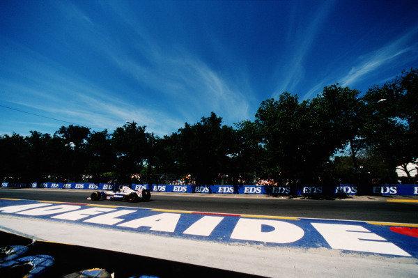1995 Australian Grand Prix. Adelaide, Australia. 10-12 November 1995. Damon Hill (Williams FW17B Renault) 1st position. Ref-95 AUS 07. World Copyright - LAT Photographic