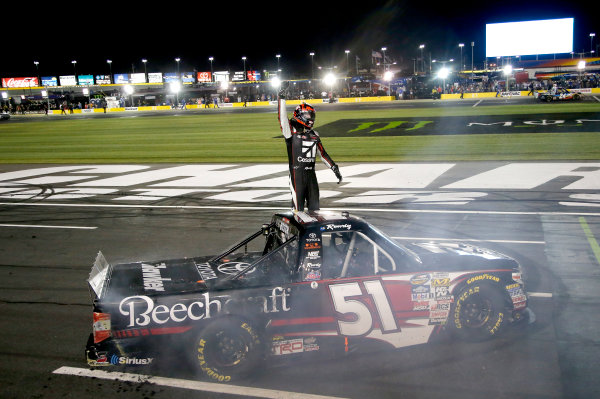 NASCAR Camping World Truck Series North Carolina Education Lottery 200 Charlotte Motor Speedway, Concord, NC USA Friday 19 May 2017 Kyle Busch, Cessna Toyota Tundra World Copyright: Matthew T. Thacker LAT Images ref: Digital Image 17CLT1mt1238