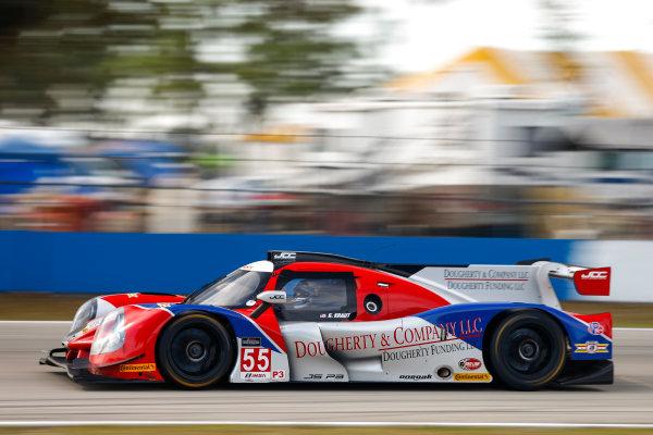 2017 IMSA Prototype Challenge Sebring International Raceway, Sebring, FL USA Friday 17 March 2017 55, Gerry Kraut, P3, M, Ligier JS P3 World Copyright: Jake Galstad/LAT Images ref: Digital Image lat-galstad-SIR-0317-14947