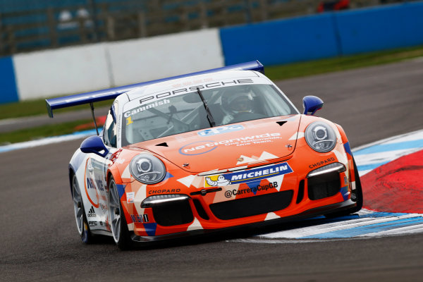 2017 Porsche Carrera Cup, Donington Park, 15th-16th April 2017, Dan Cammish (GBR) Redline Racing Porsche Carrera Cup World Copyright. JEP/LAT Images