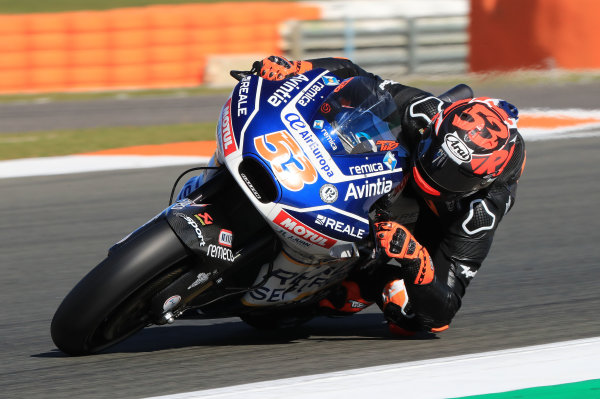 2017 MotoGP Championship - Valencia test, Spain. Tuesday 14 November 2017 Tito Rabat, Avintia Racing World Copyright: Gold and Goose / LAT Images ref: Digital Image 706835