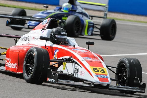 2016 MSA Formula Donington Park, 16th-17th April 2016, Nicolai Kjaergaard (DK) Fortec Motorsports MSA Formula  World copyright. Jakob Ebrey/LAT Photographic