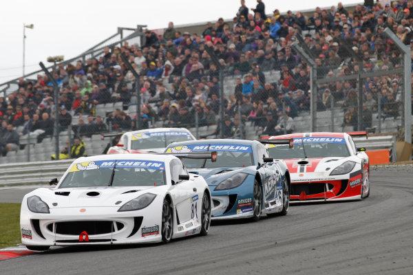 Ginetta GT4 Supercup, Brands Hatch, 2-3 April 2016. Tom Hibbert (GBR) Ginetta G55  World copyright. Ebrey/LAT Photographic