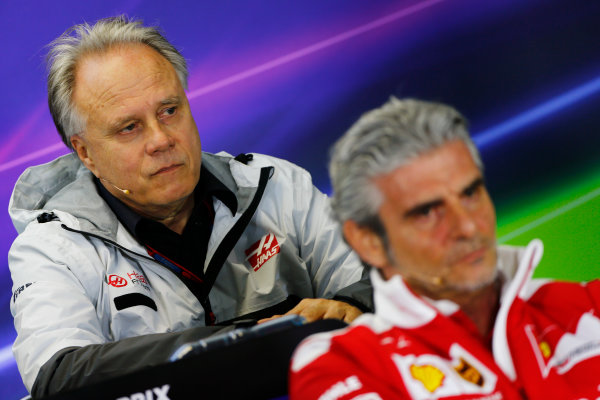 Albert Park, Melbourne, Australia. Friday 18 March 2016. Gene Haas, Team Owner, Haas F1, in the Team Principals Press Conference. World Copyright: Andrew Hone/LAT Photographic ref: Digital Image _ONZ2159