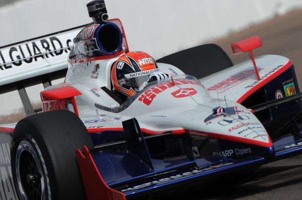 26-28 March 2010, St petersburg, Florida USA#4 Panther Racing's Dan Wheldon.©Dan R. Boyd LAT Photographic USA