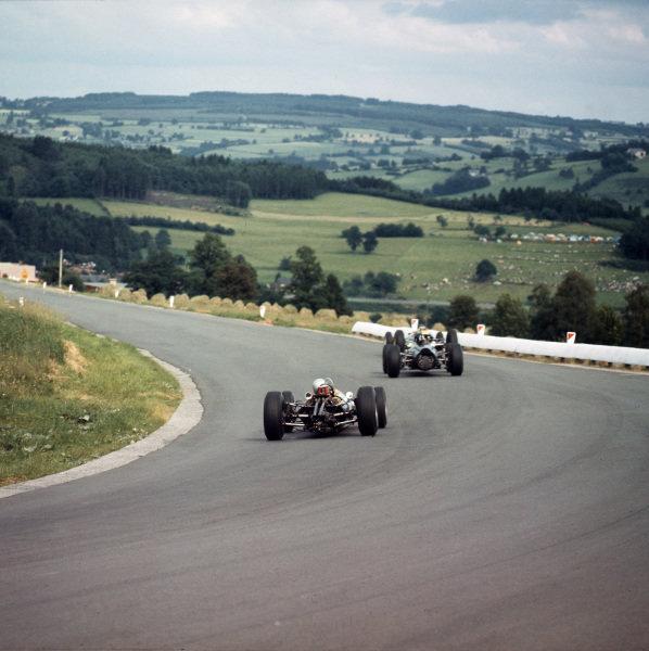 Spa-Francorchamps, Belgium.12-14 June 1964.  Haut de la Cote corner.  Ref-3/1253A. World Copyright - LAT Photographic